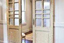 Doors/windows/Floors/walls/ceilings