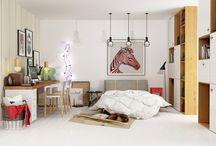 Bedroom renders / Architectural render