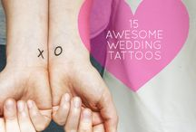 Wedding Tattoos / Wedding tattoos, bride and groom tattoos