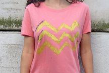 ZIG ZAG / cool T-shirts!