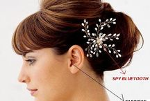 Spy Bluetooth Hair Clip / Secret communications need special spy devices like spy bluetooth hair clip earpiece can give what it takes and one can buy earpieces online india and delhi.