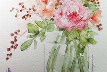 Watercolours