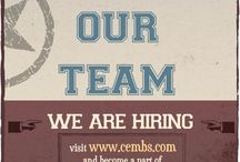 Careers / Careers for Life   Check out our current opportunities - Join our team http://www.cembs.com/Careers/
