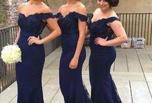 Bridesmaids dresses long