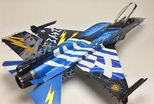 F-16 block 52 zeus 1/48 kinetic