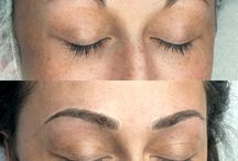 """All about them Micro Bladed BROWS"""" / A highly successful Esthetician...who will soon enough be a Micro Blading Queen as well❤️"""