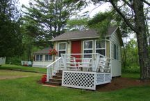 Bay Leaf Cottages & Bistro / Our vintage cottages and motel in Lincolnville Beach, Maine. / by Bay Leaf Cottages & Bistro
