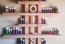 essential oil - shelving