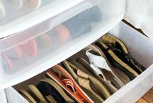 Sandles & thong storage
