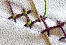 Stitch / Cross stitch models, knots