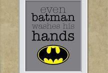 Batman Bathroom / by Heather Allmond