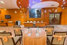 Conference Hall - Jade / The Jade hall offers a fully carpeted and beautifully lit up glass hall that is perfect for conferences and small celebrations. The high quality audio equipment such as the 16 JBL speakers, L.E.D. projector, Plasma T.V.s, P.A. System, Wireless Microphones and Wi-Fi connectivity make it one of a kind in Dehradun for hosting Corporate Conferences. www.thesolitaire.in/banquet/jade-banquet