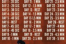 Fitness, 30 day challenges
