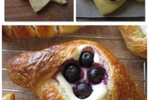 How to cut bread or puff pastry