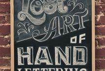 Lettering / hand type / by Typeforyou.org