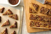 pecan bars or pecan recipes