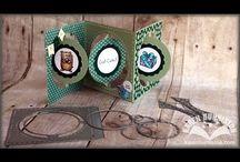 Pop it Ups Accordion Albums by Karen Burniston for ECD / Projects using the Pop it Ups Accordion Albums by Karen Burniston for Elizabeth Craft Designs / by Karen Burniston