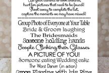 Wedding plans / by Katey Bellrose
