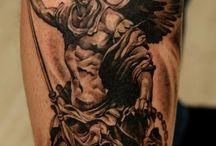 Archangel  tattoo