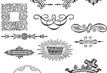 ORNAMENT VECTOR ILUSTRATION CLIP ART