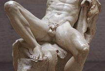esculturas de desnudos masculinos eróticos