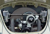 Beetle engine bays