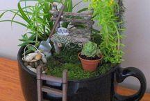 Bahçe doğa yeşil