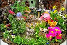 Wee Fairy Folk Gardens / by Jennifer LaRosaHicks