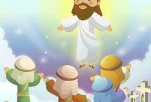 holy cartoon