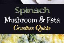 crustless quiches