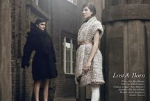 Lost&Born collection / Collection of woolen women's clothing 2013