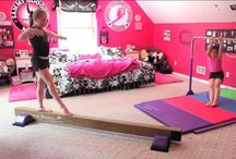 Gymnastics room ideas