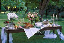 Wedding bali bridal table