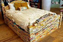 Book themed house / Wouldn't this be fun for a B&B and/or writer's retreat?