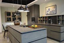 Küche im modernen Landhausstil