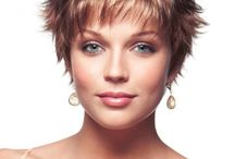 Strong looks for women with short hair