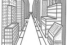 Perspektiivin piirtäminen