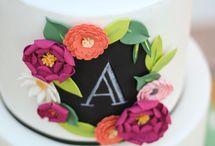 Trending / Current trends in cake decorating.