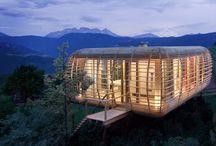 Häuser aus Holz / Häuser aus Holz mit kleinen Maßen