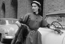 Мода 40-50-х годов