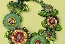 Vintige bracelet, necklace,  earrings