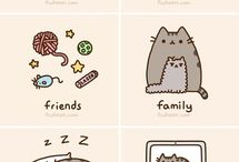 Pusheen and All Her Cuteness / by Jess Beadle