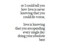 Just love / All things love