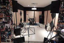 musical / trabalhos do estúdio