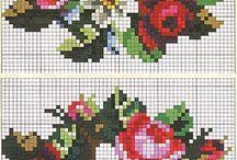 Pixel Art - Flowers