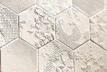 tiles / hexagon tiles, azulejos, cement tiles, kitchen & bathroom decor
