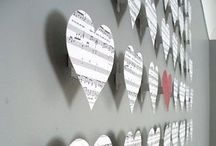 wall decoration hearts