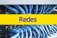 Redes / Realizamos mantenimiento de red proactivo y reactivo, solucionando problemas de red de todo tipo. Si su red o alguno de sus servidores de red críticos tiene algún problema, no dude en llamarnos.