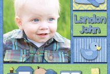 Baby Page Layout Ideas