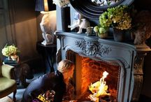 HOME IDEAS: Fireplaces & entertainment centers / ~